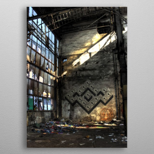High-quality metal wall art meticulously designed by banaszlo would bring extraordinary style to your room. Hang it & enjoy. metal poster