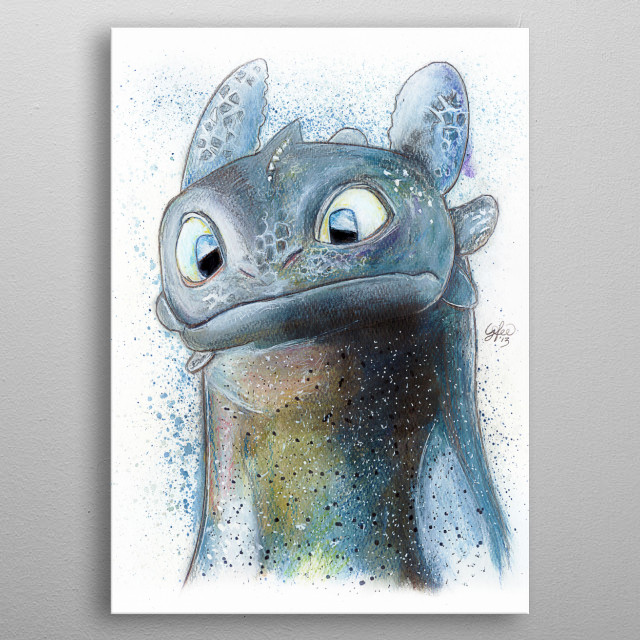 High-quality metal print from amazing Cartoons collection will bring unique style to your space and will show off your personality. metal poster