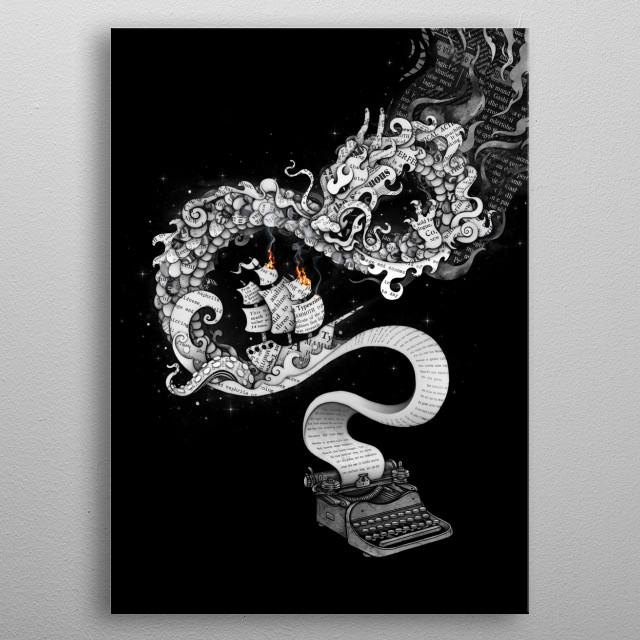 Unleashed Imagination metal poster