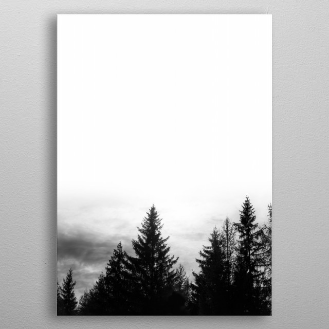 High-quality metal print from amazing Zeitgefluester collection will bring unique style to your space and will show off your personality. metal poster