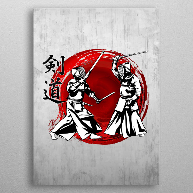 Kendo metal poster