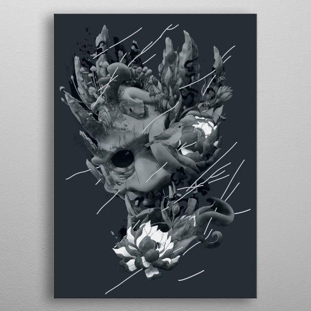 Fascinating  metal poster designed with love by angrymonk. Decorate your space with this design & find daily inspiration in it. metal poster