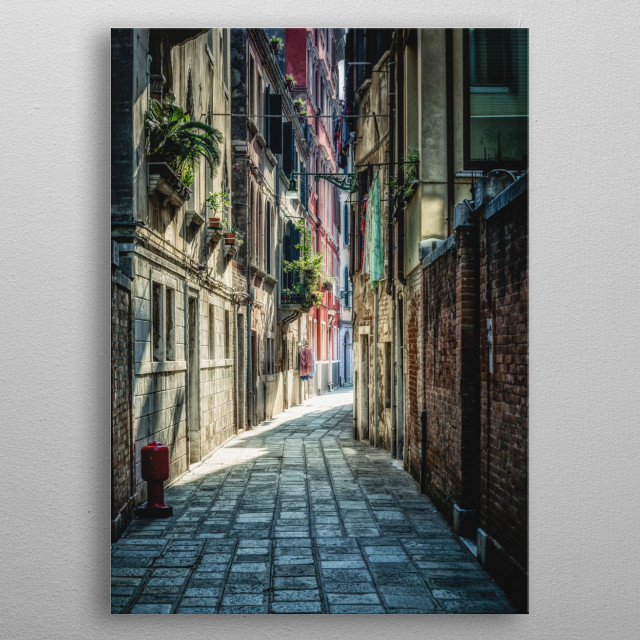 High-quality metal print from amazing Souvenirs Dun Autre Monde collection will bring unique style to your space and will show off your personality. metal poster