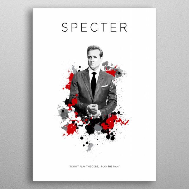 Harvey Specter metal poster