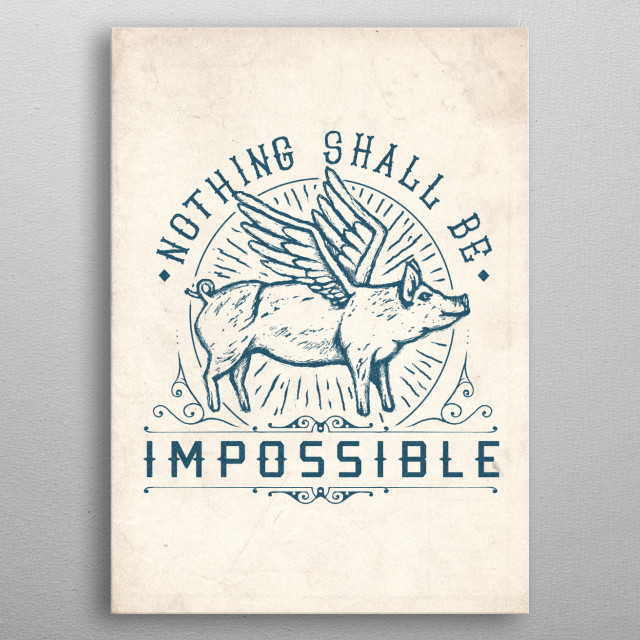 High-quality metal print from amazing Best Letterings collection will bring unique style to your space and will show off your personality. metal poster