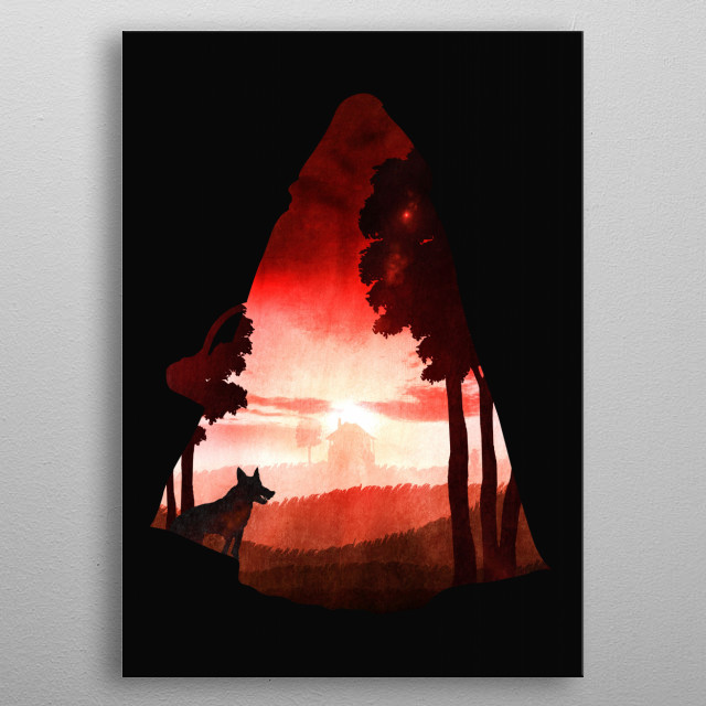 High-quality metal print from amazing Fairy Tales collection will bring unique style to your space and will show off your personality. metal poster