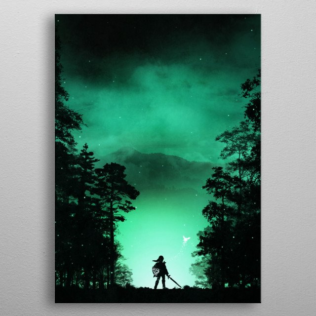 Fascinating metal poster designed by Colin Morella. Displate has a unique signature and hologram on the back to add authenticity to each design. metal poster