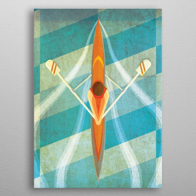This marvelous metal poster designed by rabassa to add authenticity to your place. Display your passion to the whole world. metal poster