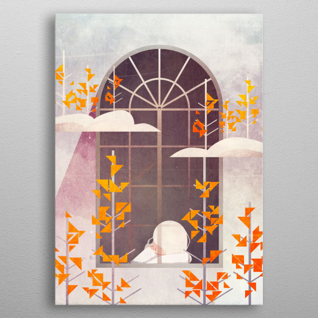 High-quality metal print from amazing Adventure collection will bring unique style to your space and will show off your personality. metal poster
