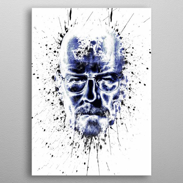 BreakingAbstract metal poster