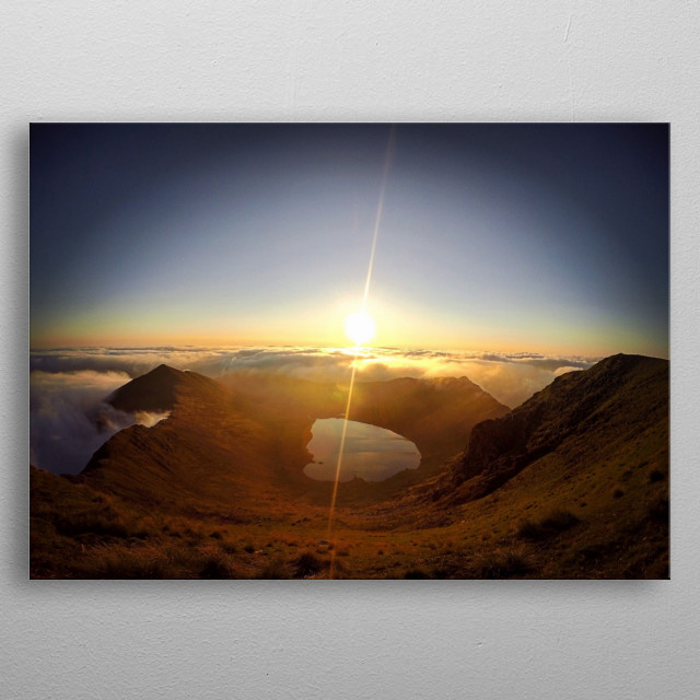 High-quality metal print from amazing Landscape Photography collection will bring unique style to your space and will show off your personality. metal poster