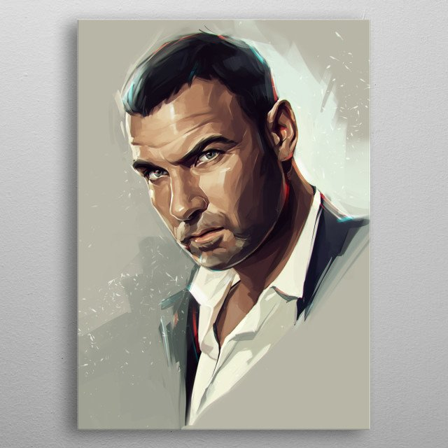 "Ray Donovan, a ""fixer"" for the powerful law firm Goldman & Drexler, representing the rich and famous of Los Angeles, California. metal poster"