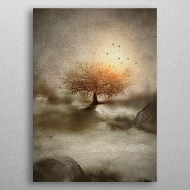 Lone Tree Love IV metal poster