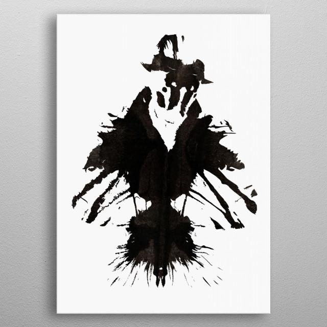 Rorschach metal poster