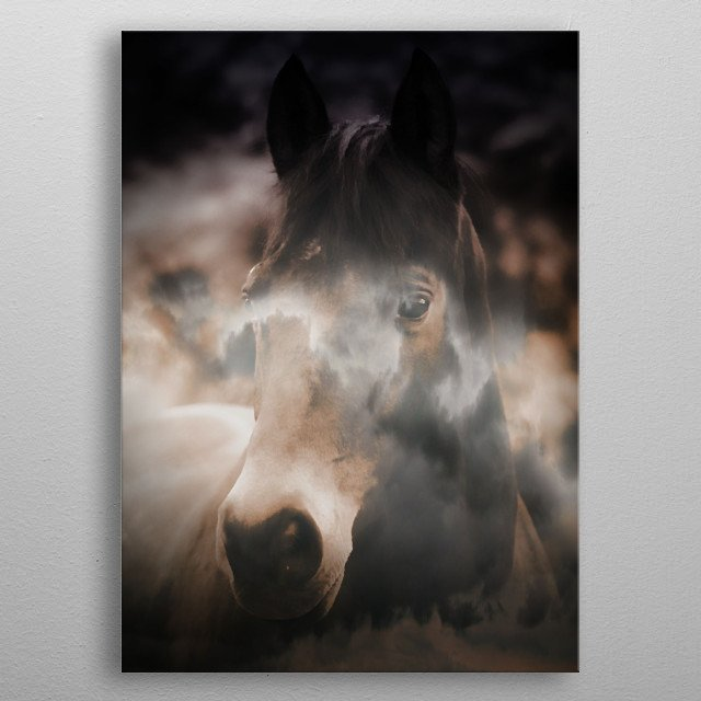 Always In My Dreams by Clare Bevan Photography. metal poster