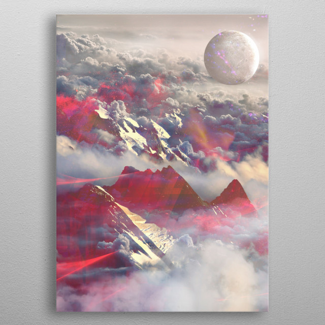 Fascinating  metal poster designed with love by mikath. Decorate your space with this design & find daily inspiration in it. metal poster