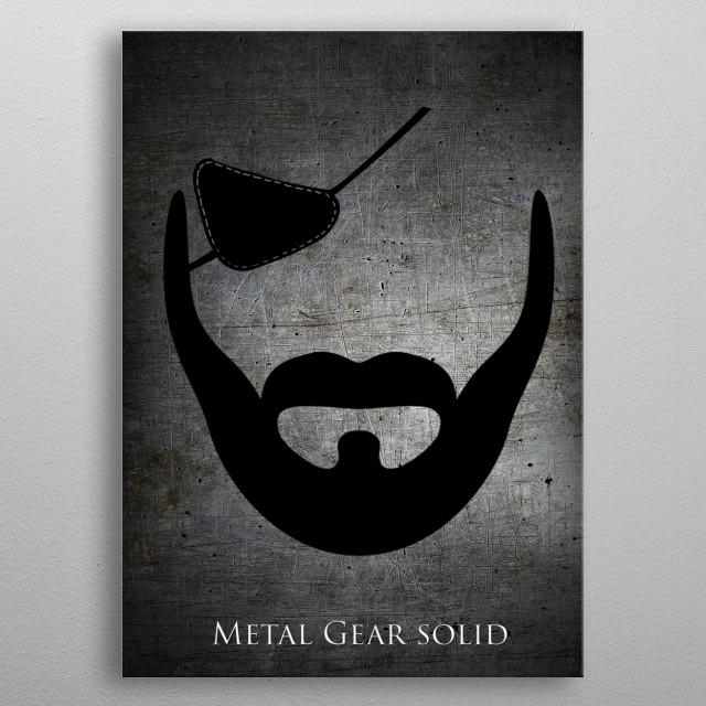 Big Boss metal poster