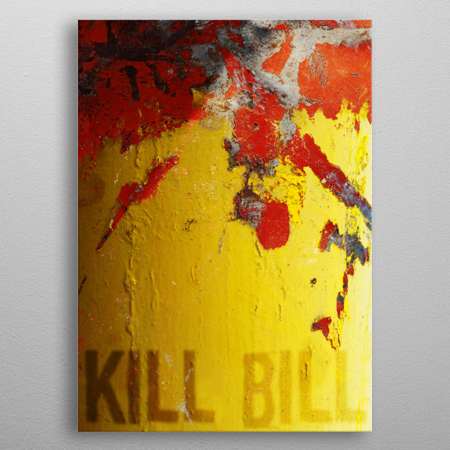 KILL BILL metal poster