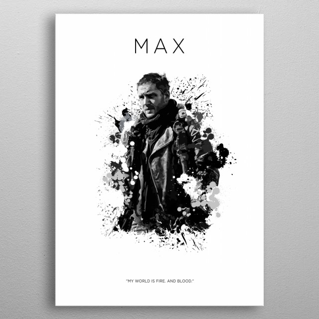 Mad Max metal poster