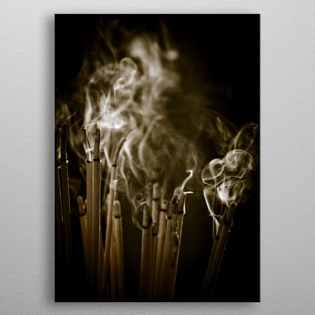 Insence Stick metal poster