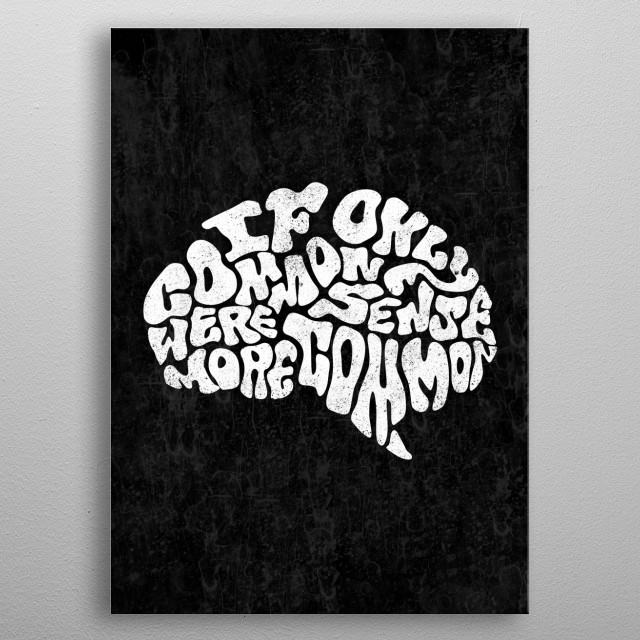 This marvelous metal poster designed by loupatrickmackay to add authenticity to your place. Display your passion to the whole world. metal poster