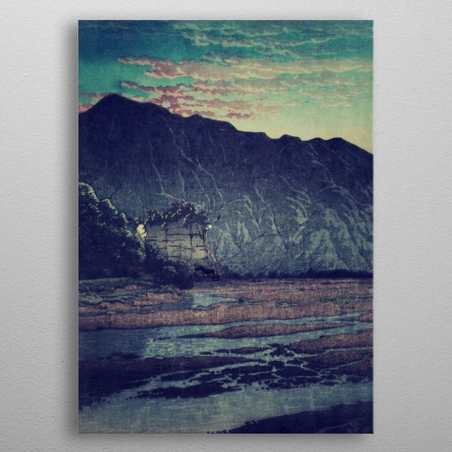 High-quality metal print from amazing Lost In The Wilderness collection will bring unique style to your space and will show off your personality. metal poster