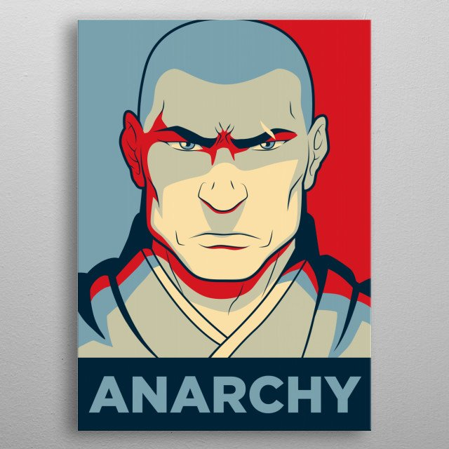 Avatar 2 Poster: ANARCHY Zaheer's Ideal. From T... By Christopher Sanabria