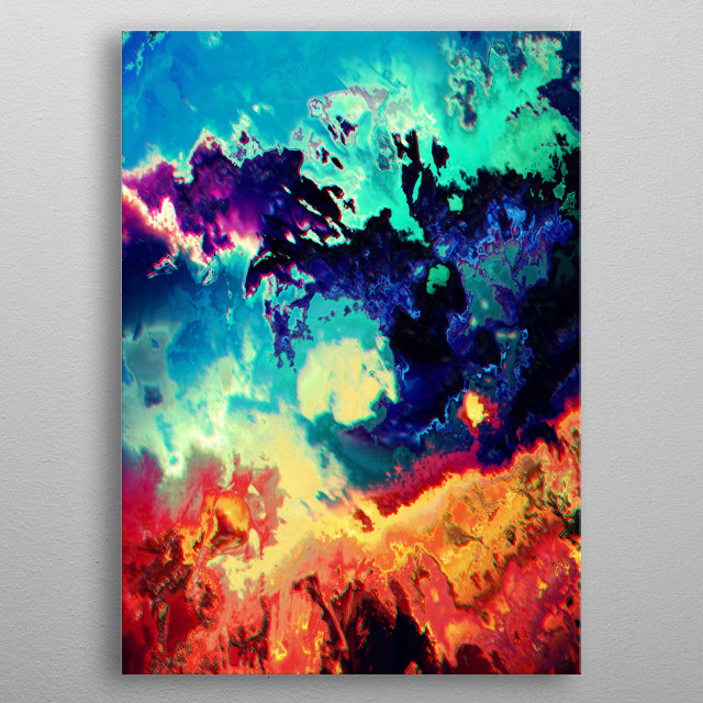 This marvelous metal poster designed by tokoumil to add authenticity to your place. Display your passion to the whole world. metal poster