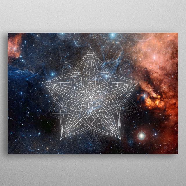 Twinkle Twinkle Little Star metal poster