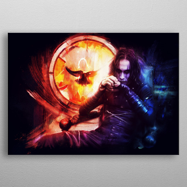 High-quality metal wall art meticulously designed by xynthymr would bring extraordinary style to your room. Hang it & enjoy. metal poster