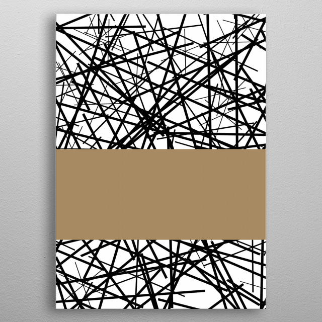 High-quality metal print from amazing Digital Art By Trebam collection will bring unique style to your space and will show off your personality. metal poster