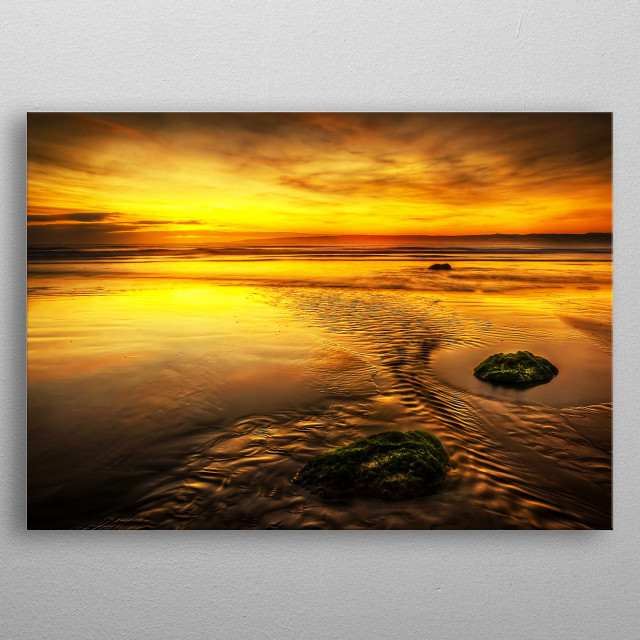 (North Yorkshire Coast) North Yorkshire is a non-metrop... metal poster
