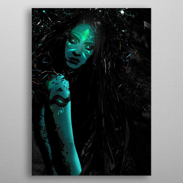 ///Wild One illuminated//// metal poster