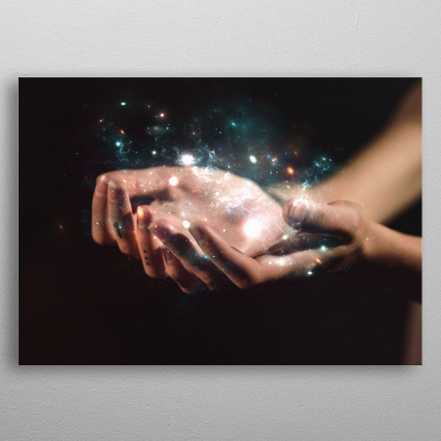 Touch metal poster