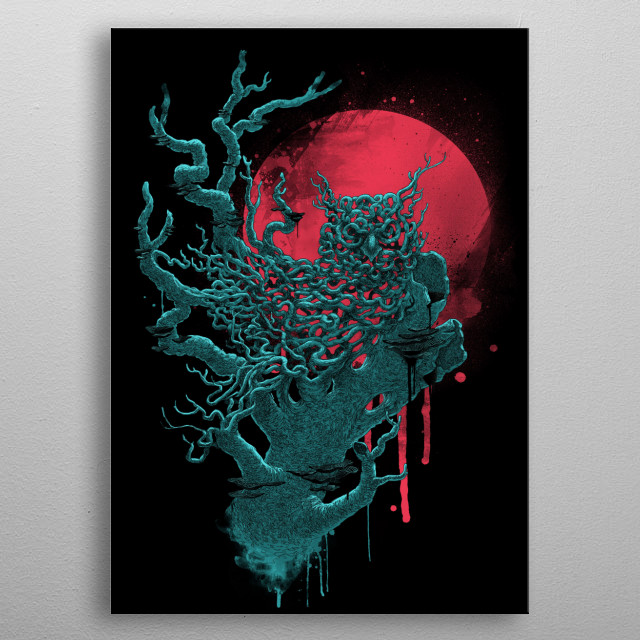 This marvelous metal poster designed by angrymonk to add authenticity to your place. Display your passion to the whole world. metal poster