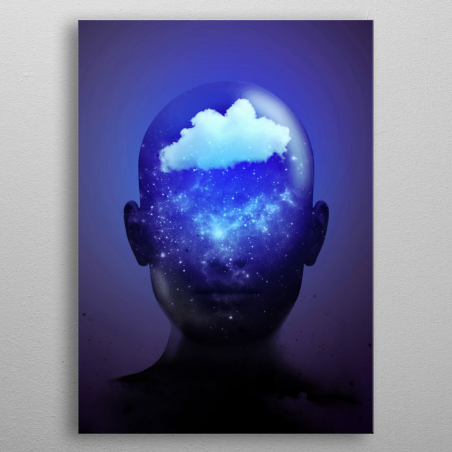 Fascinating  metal poster designed with love by nakedmonkey. Decorate your space with this design & find daily inspiration in it. metal poster