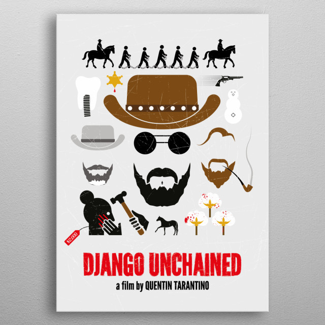 High-quality metal print from amazing Movie Posters collection will bring unique style to your space and will show off your personality. metal poster