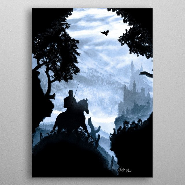 High-quality metal wall art meticulously designed by diogoverissimo would bring extraordinary style to your room. Hang it & enjoy. metal poster