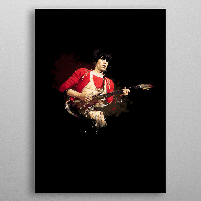 High-quality metal print from amazing Electric Heroes collection will bring unique style to your space and will show off your personality. metal poster