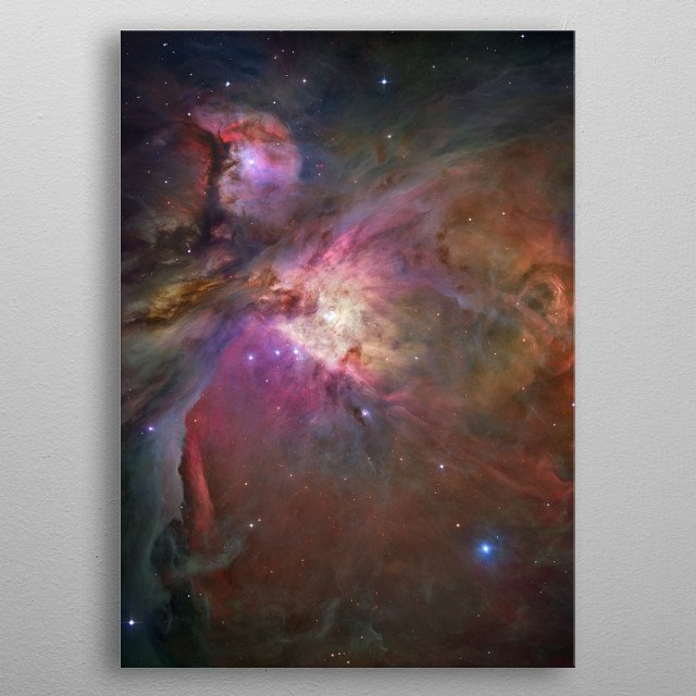 Fascinating metal poster designed by Earle Doudera. Displate has a unique signature and hologram on the back to add authenticity to each design. metal poster