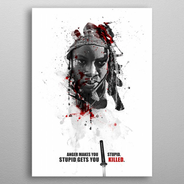 Fascinating metal poster designed by Julien KALTNECKER. Displate has a unique signature and hologram on the back to add authenticity to each design. metal poster