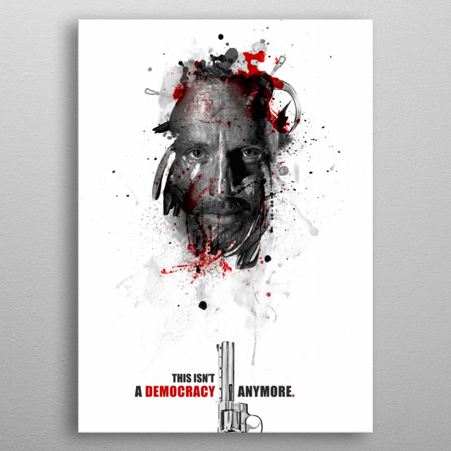 High-quality metal wall art meticulously designed by julienkaltnecker would bring extraordinary style to your room. Hang it & enjoy. metal poster