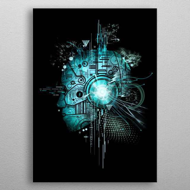 High-quality metal print from amazing My Style collection will bring unique style to your space and will show off your personality. metal poster