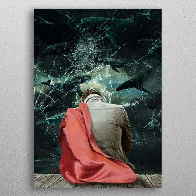 High-quality metal print from amazing Whales collection will bring unique style to your space and will show off your personality. metal poster