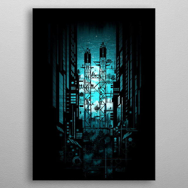 This marvelous metal poster designed by silentop to add authenticity to your place. Display your passion to the whole world. metal poster