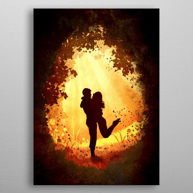 Magic metal poster