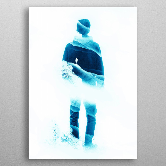 High-quality metal print from amazing Walls You Build Yourself collection will bring unique style to your space and will show off your personality. metal poster