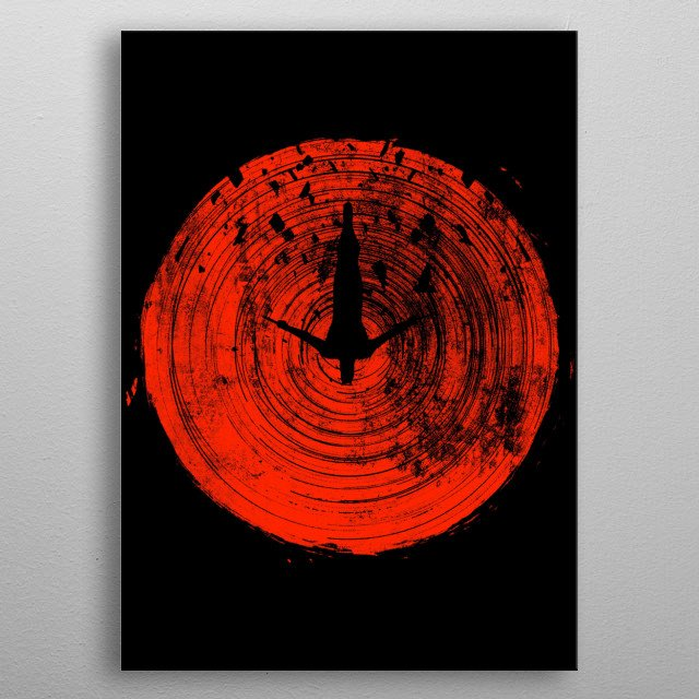 This marvelous metal poster designed by fanfreak to add authenticity to your place. Display your passion to the whole world. metal poster