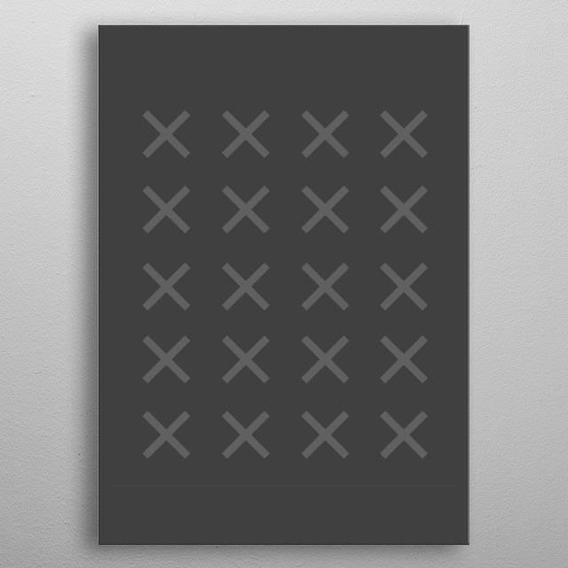 Minimalism when you look for it. metal poster