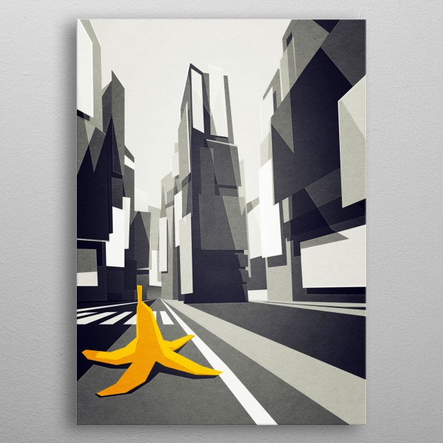 High-quality metal wall art meticulously designed by yetiland would bring extraordinary style to your room. Hang it & enjoy. metal poster